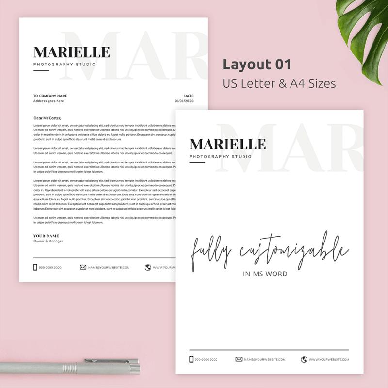 Editable Letterhead