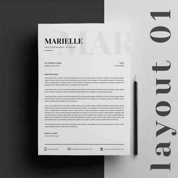 Printable Letterhead