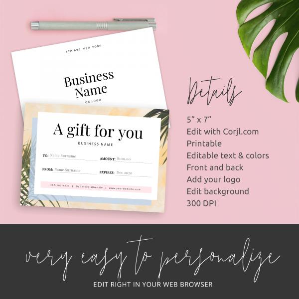 business gift vouchers