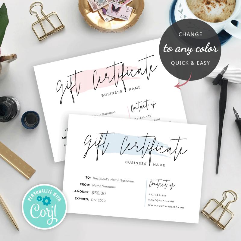 gift voucher designs