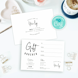 manhattan printable gift voucher template