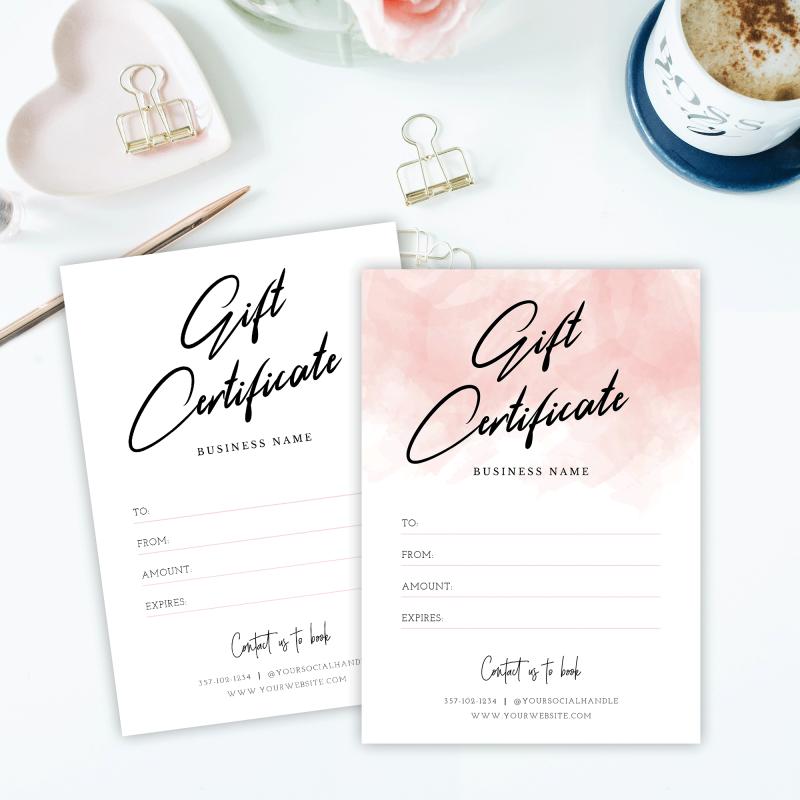 feminine gift cards