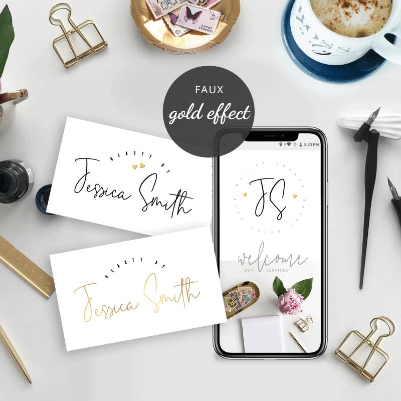 editable beauty logos