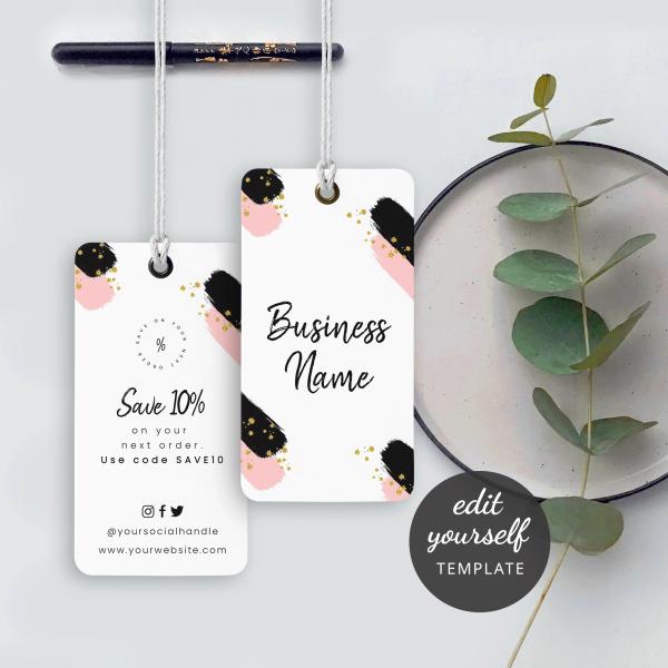 Apparel Hang Tags design