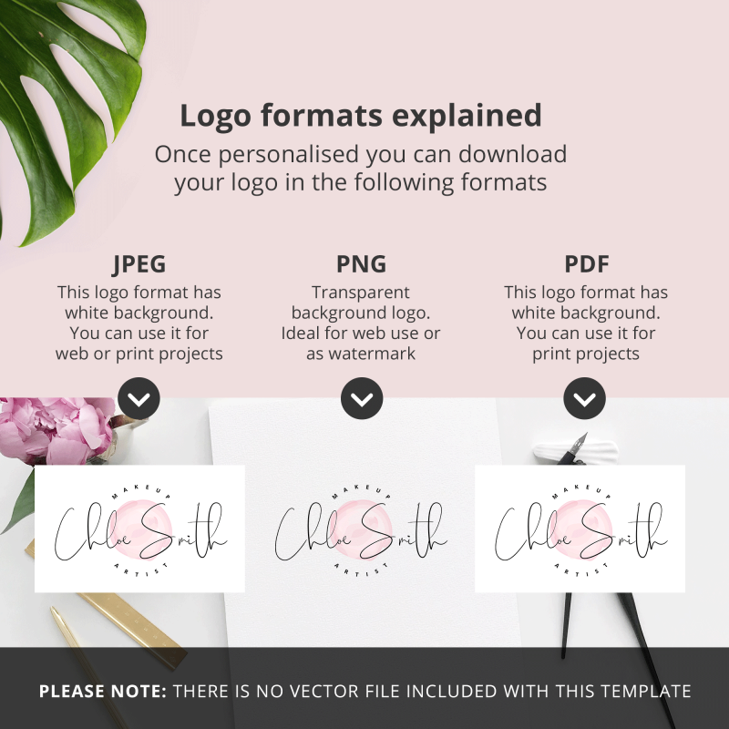 logo formats exmplained