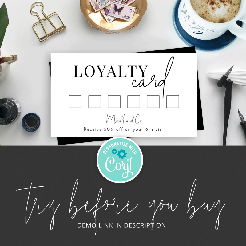 try rewards card design