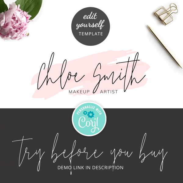 try out logo template