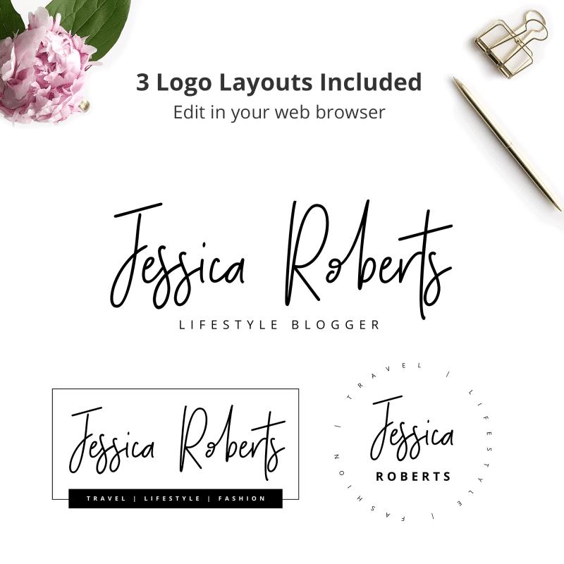 blogger simple logo
