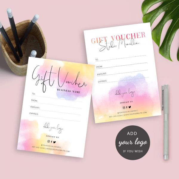 paint effect gift certificate