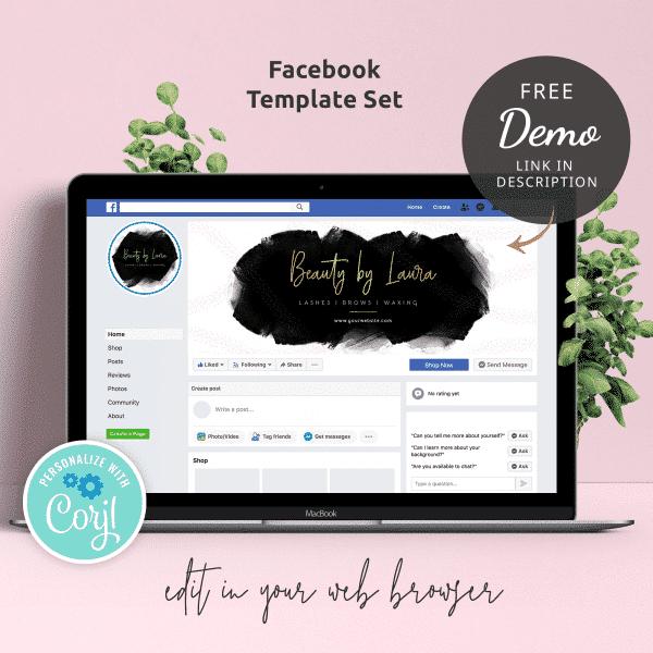 facebook template designs
