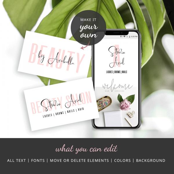 salon branding kit