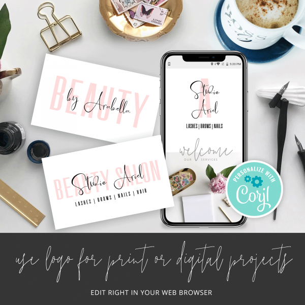editable logo template designs