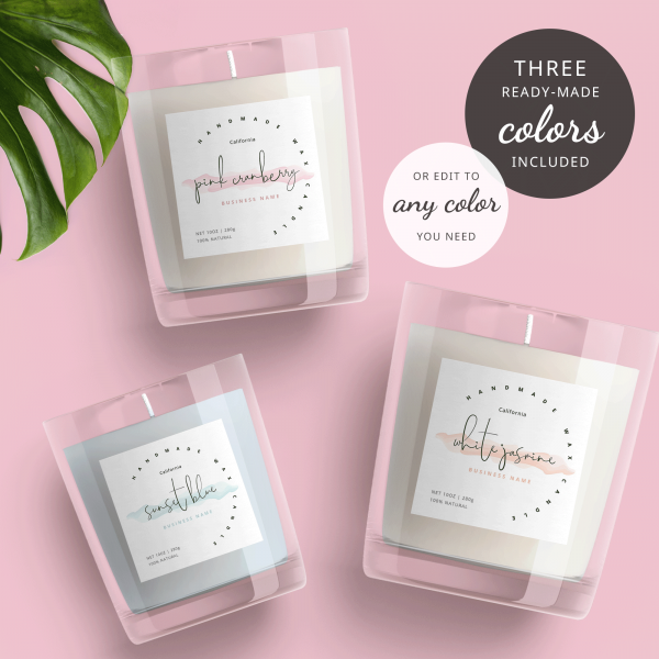 Customizable Labels template