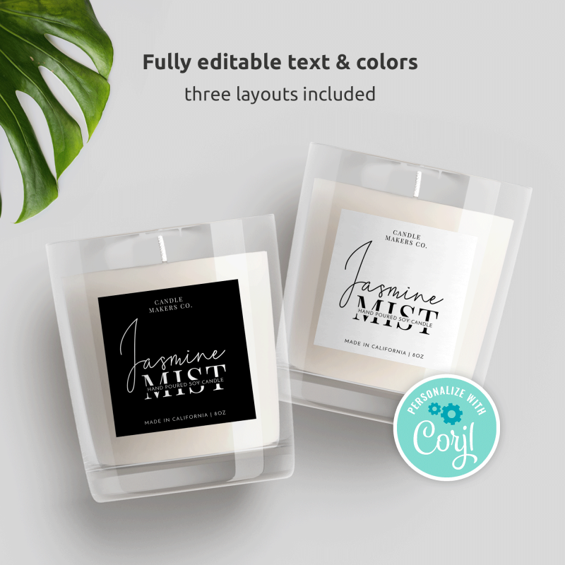 Product Label Templates
