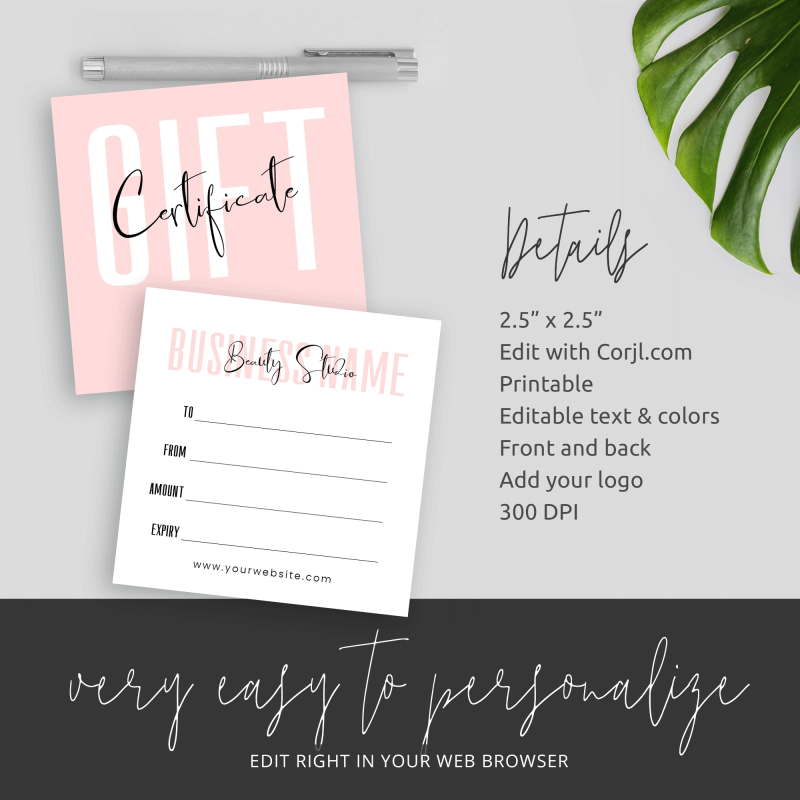 small printable company voucher