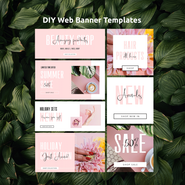 Editable Website Banner Template