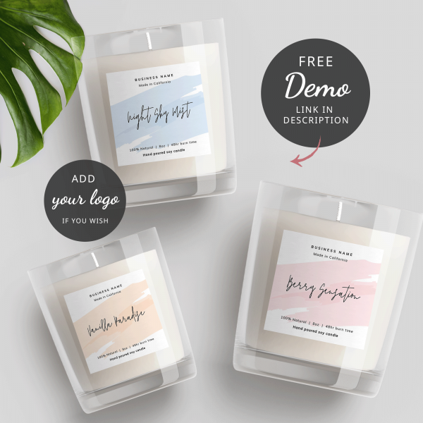 Square Label Template