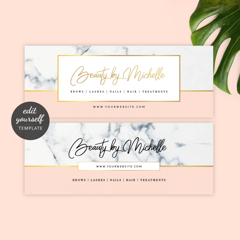 editable Facebook page cover and profile photo templates