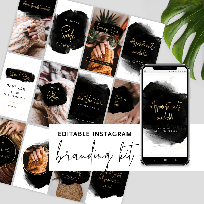 Instagram Story and Posts Templates