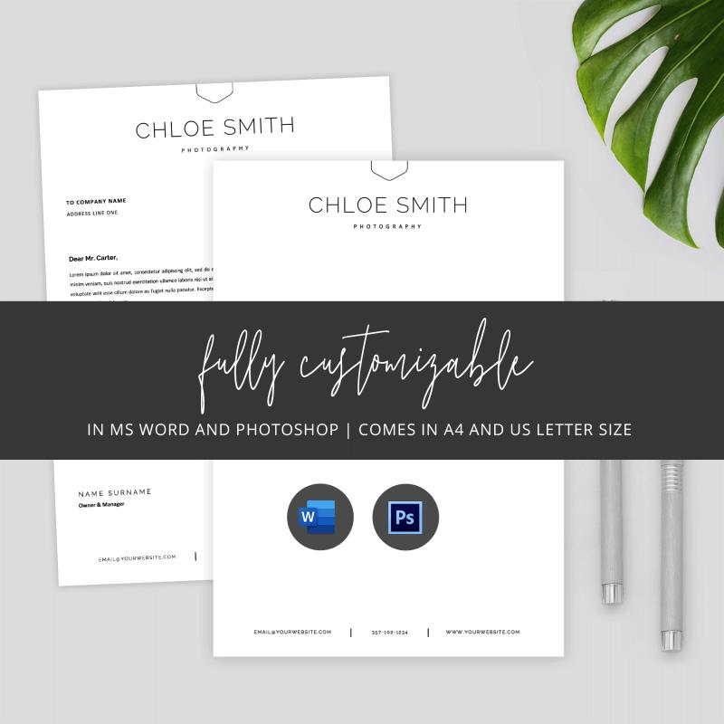 printable letterhead template