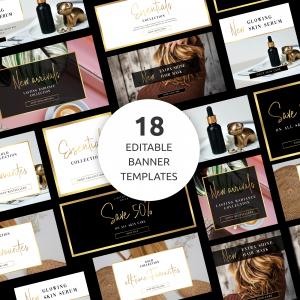 Editable Website Banner Templates