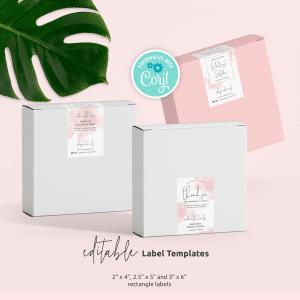 Packaging Seal Label Template